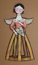 Santos Cage Paper Art Doll