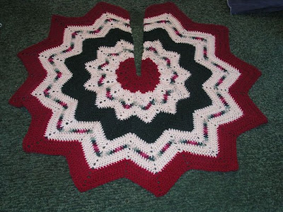 Brunswick Crochet/Knit Christmas Patterns Afghan Tree Skirt Plus