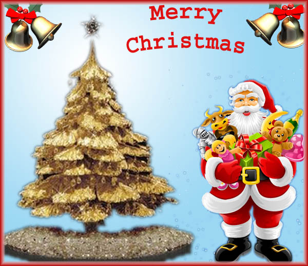 Happy Merry Christmas Xmas Day 2010 Messages, Wishes, SMS, Greetings ...