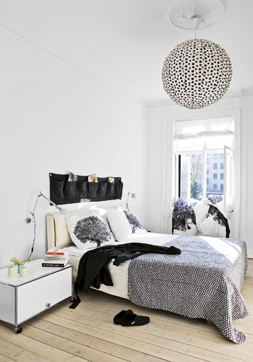 Black White and Grey Bedroom 360 x 515