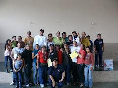 CELEBRANDO EL DIA DEL TRABAJADOR TRIBUNALICIO 2009