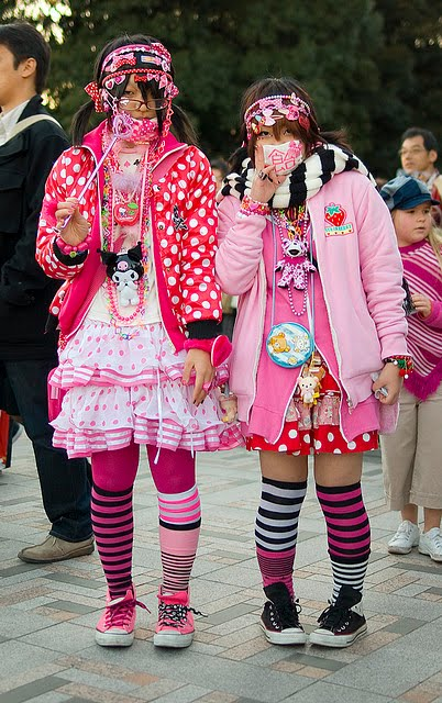 beauty en japan blogger vlogger japanese street fashion decora