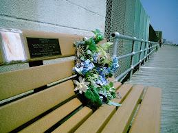 Memorial Boardwal Bench