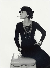 French designer Coco Chanel