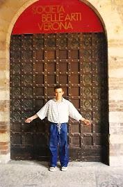 Aqui Jeovah Santos estudou e aprendeu muito em sua estadia na Itália.