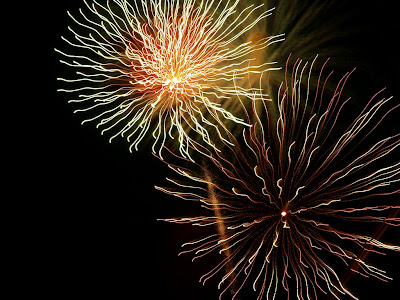 Hillsborough, NJ Fireworks 2009