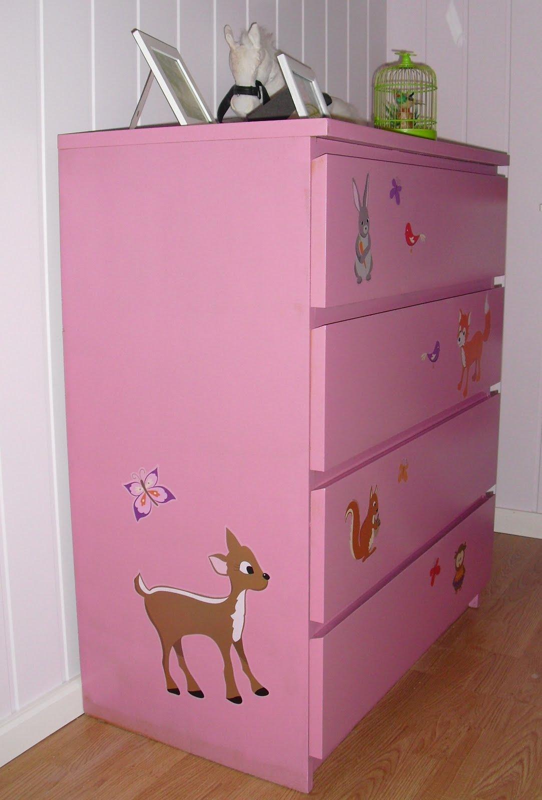 de gode ting i livet make over ikea malm kommode blir pikedr m. Black Bedroom Furniture Sets. Home Design Ideas