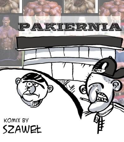 PAKIERNIA - seria komiksowa (nowy pasek w każdą niedzielę!)