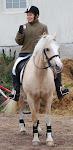 Hesten min og meg