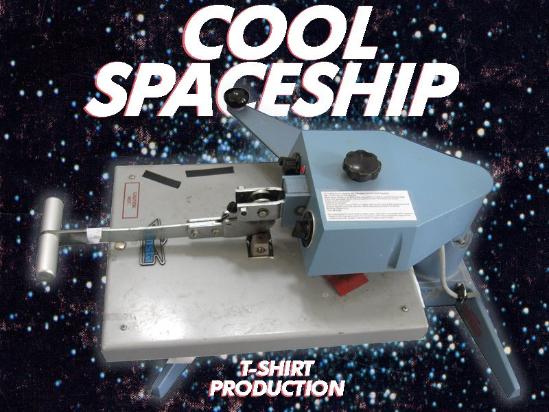 Cool Spaceship T-shirts