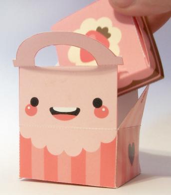 Kawaii papercraft r i r y for Box parto cani fai da te
