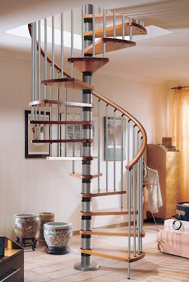 Luxury stairs decorating for home interior design