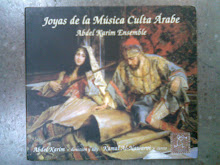 """MI DISCOGRAFÍA: """"Joyas de la Música Culta Árabe"""". Kamal Al-Nawawi: canto solista y percusión árabe."""
