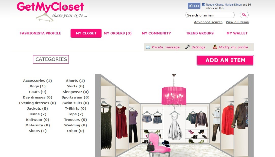 Webutantes getmycloset swap share and sell clothes online for Where can i sell my shirts online