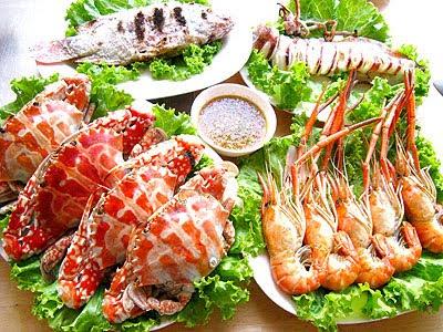 วิธีการรักษาอาการแพ้อาหารทะเล