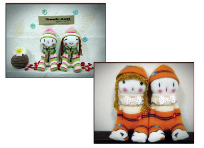 วิธีการทำตุ๊กตาถุงเท้า