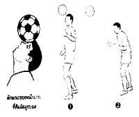 การหยุดลูกบอลด้วยศีรษะ