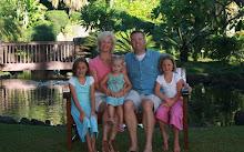 Bill, Kathryn, Hannah, Eliza & Sophia