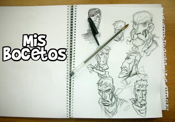 mis bocetos