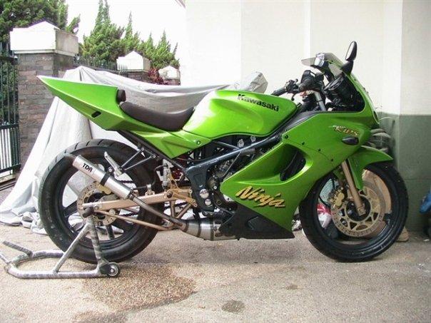Kawasaki Ninja 150 RR Spesifikasi title=