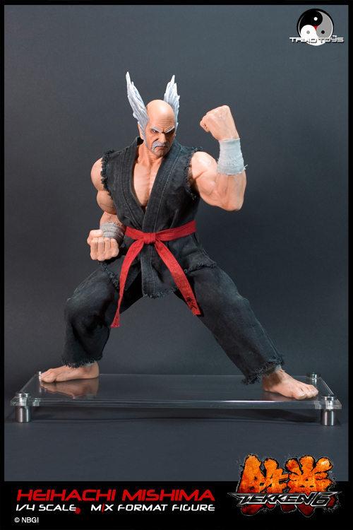 Tekken 6 1 4 Heihachi Mishima Triad Toys Large Images Gunjap