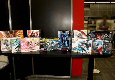 Gunplas Special Versions @ Gundam Super Expo Tokyo 2010 Large Images