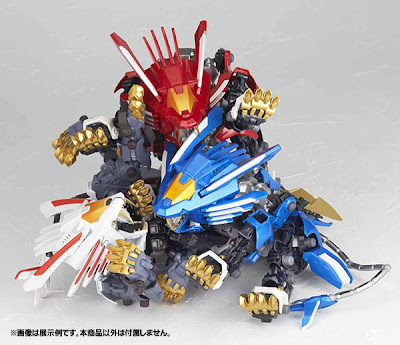 Revoltech Yamaguchi No.093 EX ZOIDS Blade Liger Mirage New Large Images