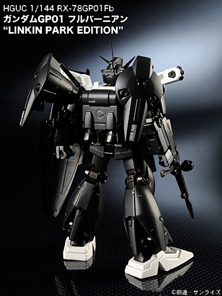 guNjap: HGUC Gundam GP01 Full Burner Linkin Park Edition ...