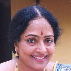 K.R. Vijaya hospitalized