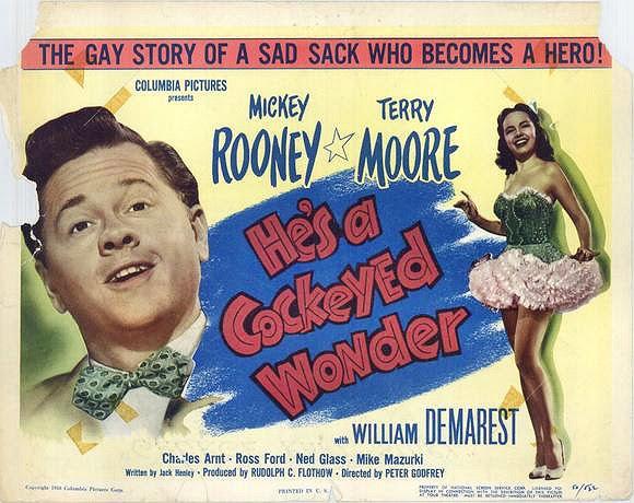 Labels: cockeyed wonders, gay stories, Mickey Rooney