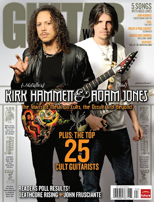 Brad Angle: GUITAR WORLD: Kirk Hammett & Adam Jones