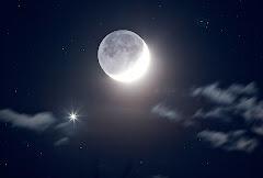 Viajan mis sueños a la luna...