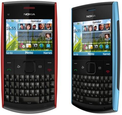 New Nokia x2-01