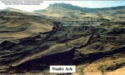 Gunung Perahu Nabi Nuh