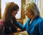 Con Hillary en Bs.As.