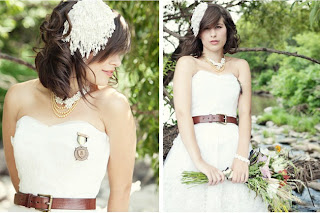 Belt Up Your Bridal Look ~ An Array of Gorgeous Wedding Belt Looks & Accessories ~ UK Wedding Blog ~ Whimsical Wonderland Weddings