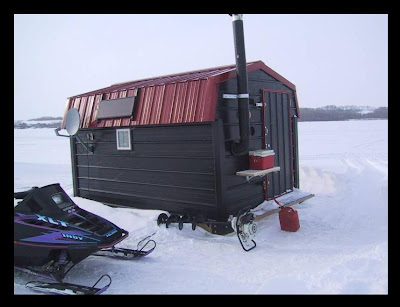Ice Fishing Dream House