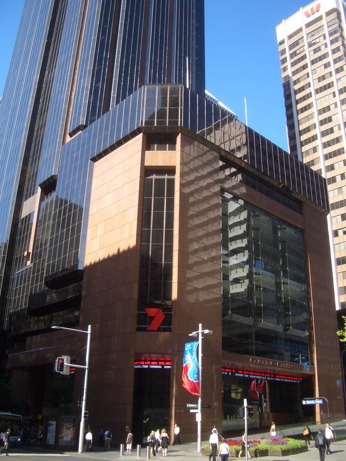 Sydney city and suburbs martin place seven network for Salon 7 places dakar