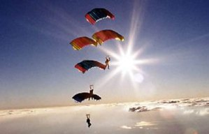 SkyDiving (Terjun Payung). ZonaAero