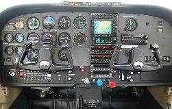 Cockpit pesawat terbang