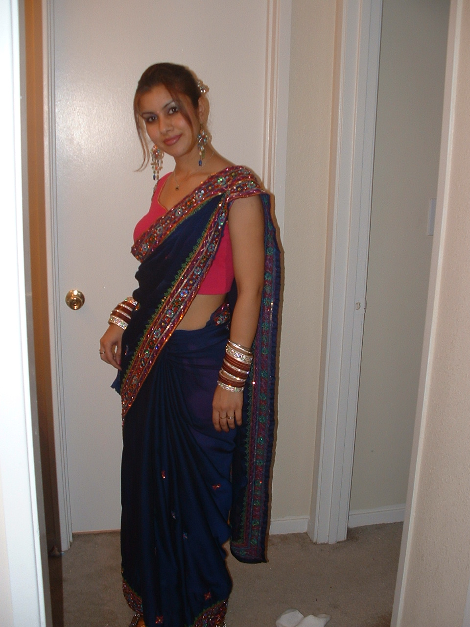 aunty Saree hot nude