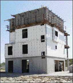 Concrete forms aluminum concrete forms for housing for Poured concrete homes plans