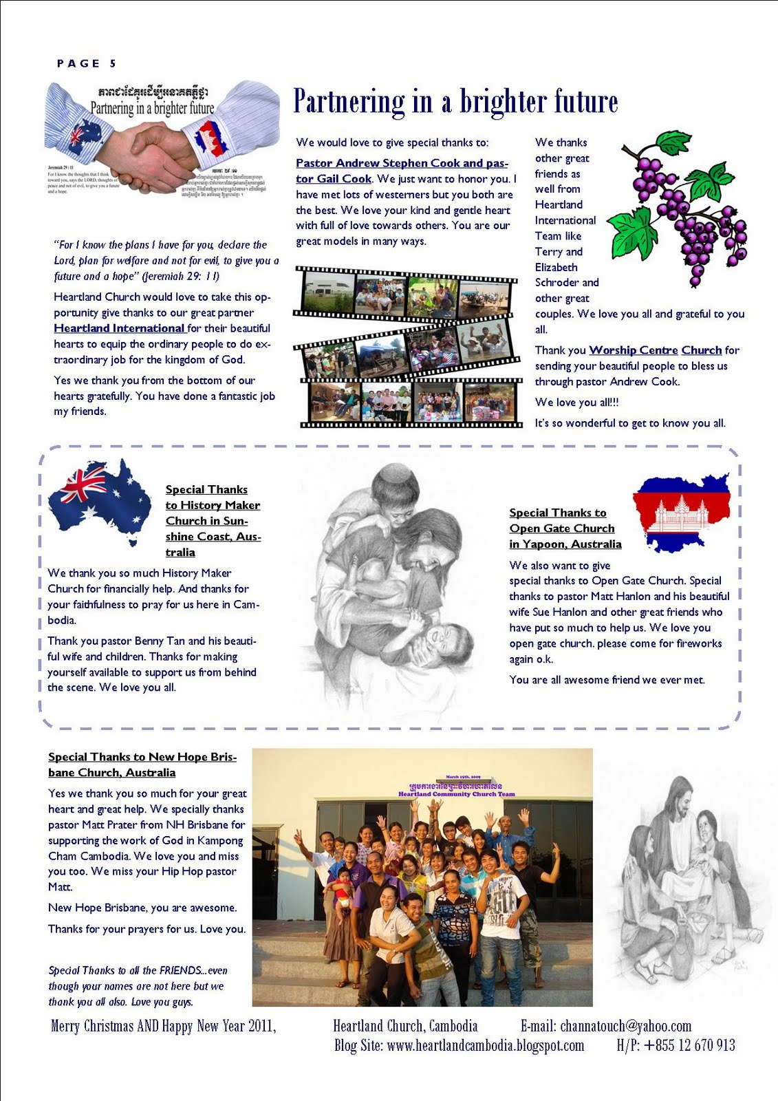 Heartland Church Newsletters