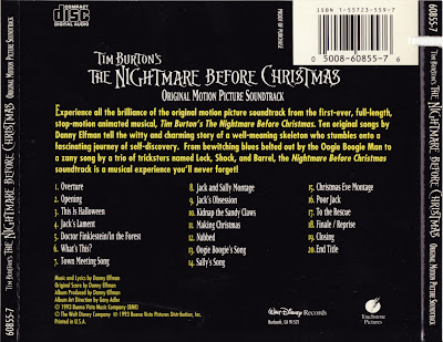 SOUNDTRACK CENTRAL: The Nightmare Before Christmas