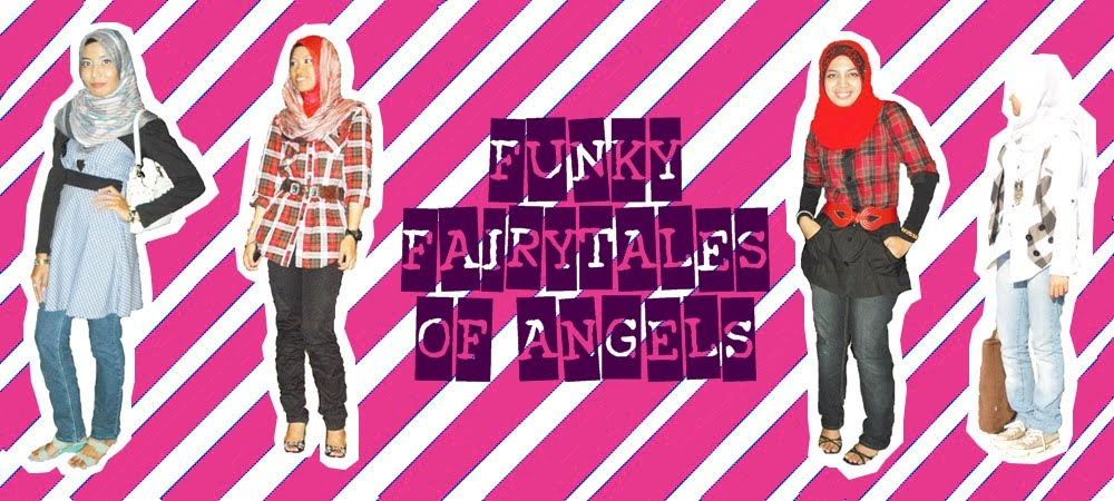 funky fairytales of angels