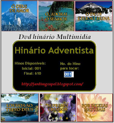 DVD Hinário Adventista com Multimídia (Completo)