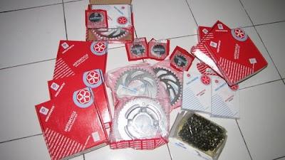 ZULUX SHOP Gear Set Drive Chain Kit Motor