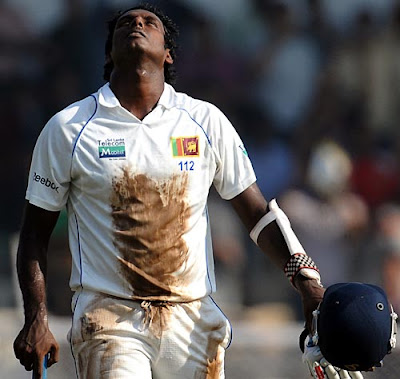 Video> Interview with Angelo Mathews