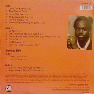 Leroy Hutson - The Very Best Of Leroy Hutson (LP + 12'' )
