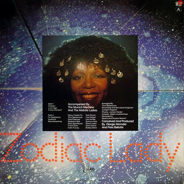 Roberta Kelly - Zodiac Lady (1978). Publié par philfunk à l'adresse 11:55
